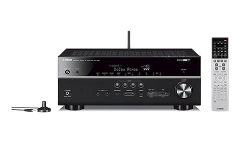 Yamaha RX-V681BL 7.2-Channel AV Receiver with Bluetooth