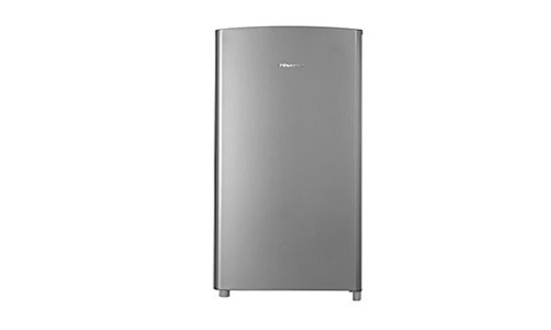 1hisense Rr66ase Refrigerator With Single Door And Freezer 6 3 Cu Ft Stainless Silver