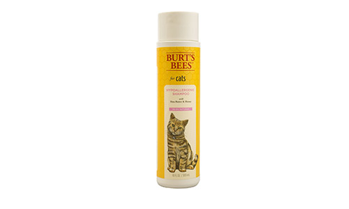 Burt's Bees for Cats Hypoallergenic Shampoo with Shea Butter and Honey, 10 Ounces