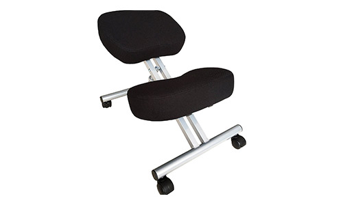 KHALZ Kneeling Chair with 50% Extra Padding, Ergonomic, Height Adjustable Stool, Improves Posture, Mobile