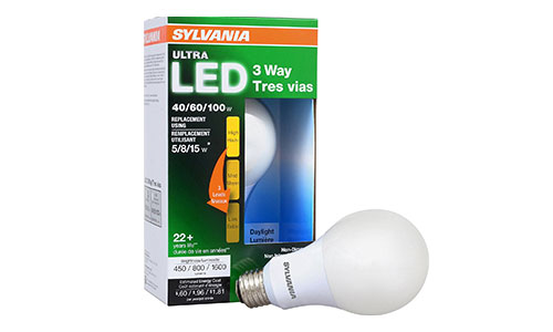 SYLVANIA (ULTRA) 3-WAY LED Light Bulb
