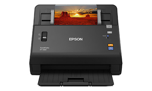 Epson FastFoto High-Speed Photo Scanning System