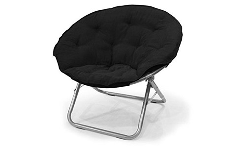 Mainstays Microsuede Moon Chair