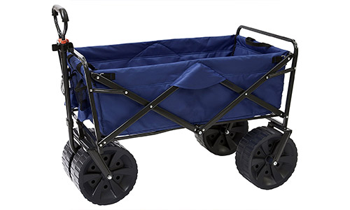 Mac Sports Collapsible All Terrain Utility Beach Wagon