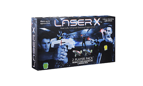 Laser X Two Player Laser Gaming Set