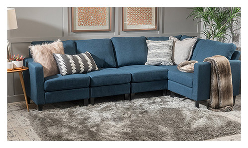 GDF Studio Carolina Sectional Sofa