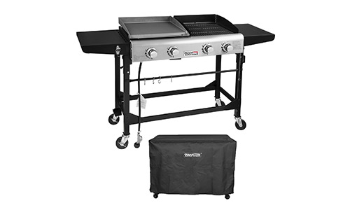5785f81d70d Royal gourmet portable propane gas grill and griddle combo