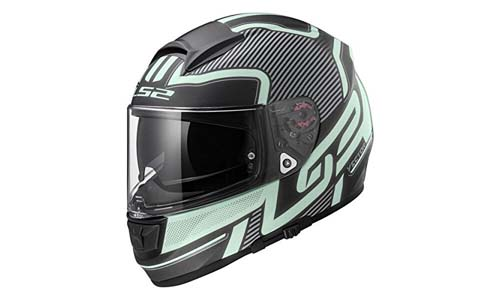 S2 Helmets Citation Vantage Full Face Motorcycle Helmet with Sunshield
