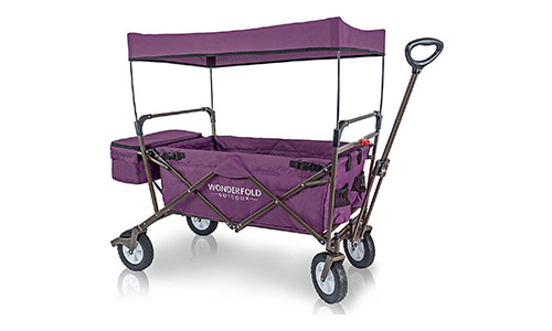 WonderFold Canopy Folding Wagon