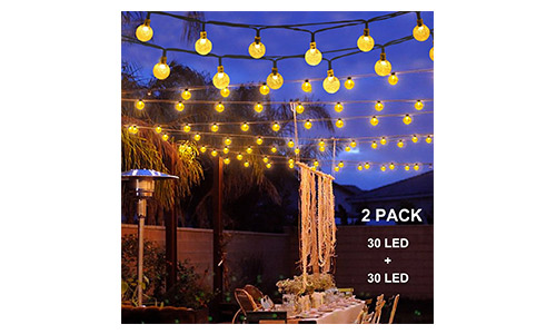 Binval Solar String Lights