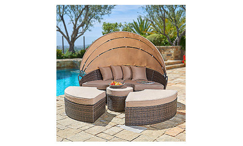 Suncrown Outdoor Furniture Daybed