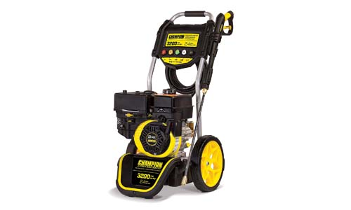 Champion 320-PSI dolly-style pressure washer