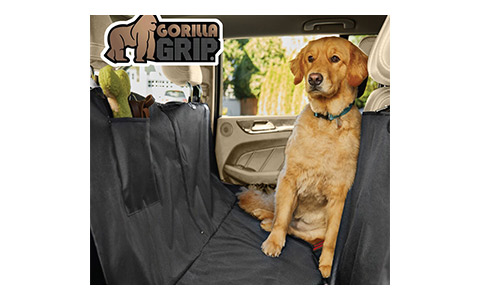 Gorilla Grip The Original Non-Slip Pet Car Seat