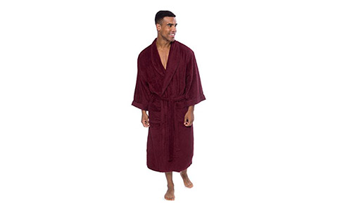 TexereSilk Terry Cloth Bathrobe