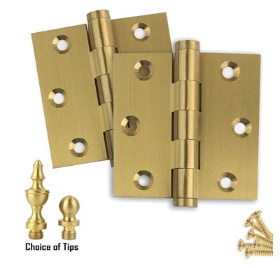 Extruded Solid Brass Door Hinges