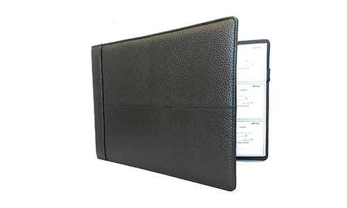 Officewerks presents Executive Check/ Page Binder
