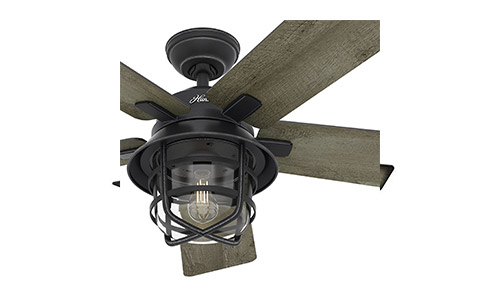 Top 10 best outdoor ceiling fans in 2018 reviews 4hunter fan weathered zinc outdoor ceiling fan aloadofball Choice Image