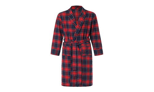 Latuza Men's Flannel Robe