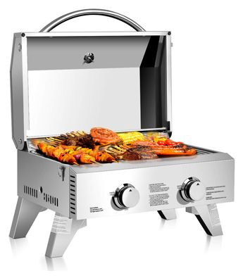 Giantess Propane Tabletop Gas Grill