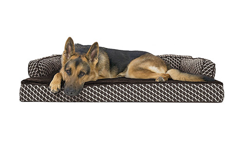 FurHaven Orthopedic Heated Bed for Dogs and Cats