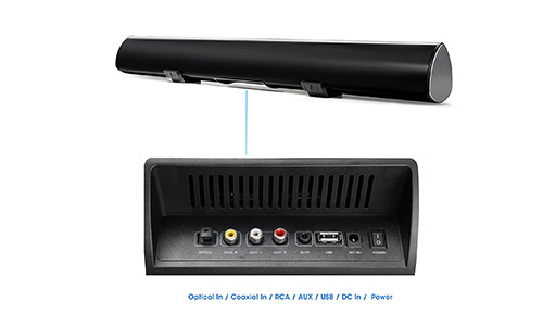 MEGACRA 80 Watt/38-Inch Bluetooth Sound Bar