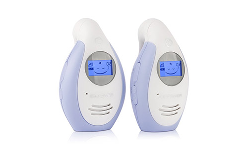 DBPOWER Digital Audio Baby Monitor with Two-way and Talk-back Intercom System, up to 1,000ft Extended Range, Rechargeable Battery Operated Parent Unit to Help Always Connected to Your Baby