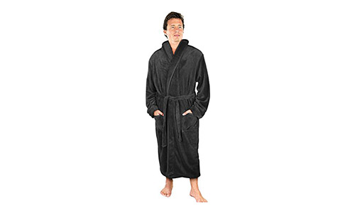 NY Threads Hooded Bathrobe