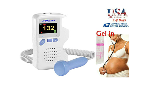 Baby Heartbeat Monitor Sound Amplifier by Qiukids Trade For Mom Compatible with the Fetal Doppler Baby Heart Monitor