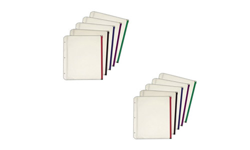 Expanding Zipper Binder Pocket by Cardinal, 5 per pack (2 Pack)