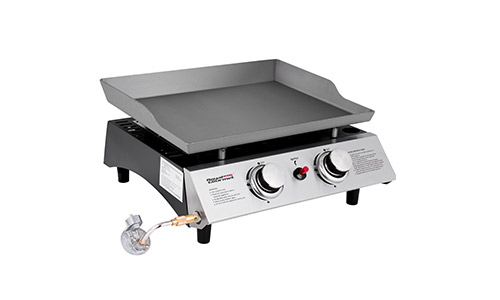Royal gourmet portable propane gas grill griddle pd1201
