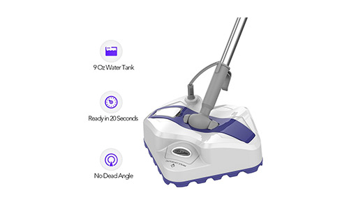 LIGHT 'N' EASY Steam Mop, Powerful Floor Steamer Cleaner Mopper with Automatic Steam Control for Hardfloor