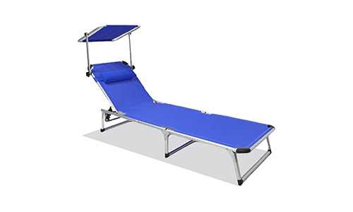 SNAIL Aluminum Folding Chaise Lounge