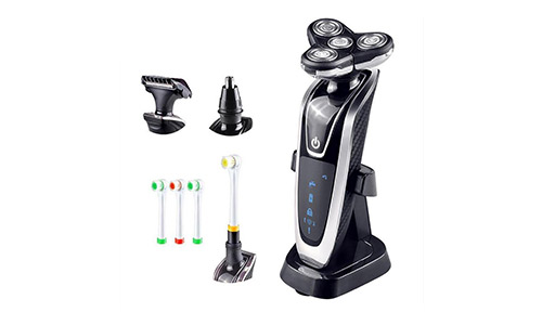 LPY-Electric Shaver with Face Beard 4D Floating Trimmer