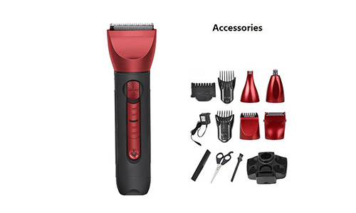 LPY-5 in 1 Mens' Electric Washable Shaver/Trimmer