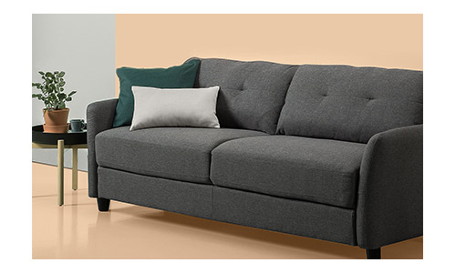 Zinus Contemporary Upholstered Sofa
