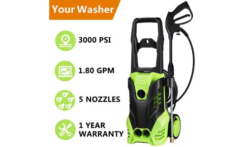 Meditool MT5 electric portable pressure washer