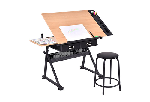 Tangkula Drafting Desk