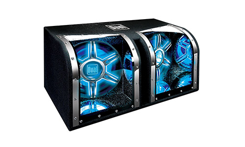 Dual Electronics illumiNITE Enclosed Car Subwoofers