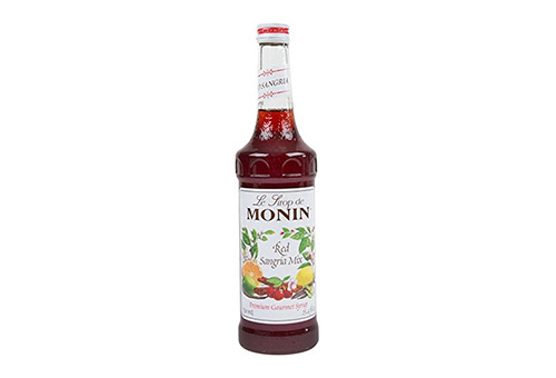 Monin Flavored Syrup, Red Sangria Mix, 750ml Bottle