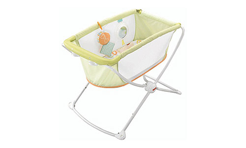 Fisher-Price Rock 'n' Play Portable Bassinet
