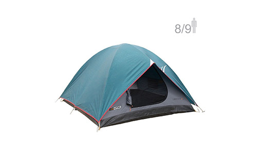 NTK Cherokee GT 8 to 9 Person 10 by 12 Foot Outdoor Dome Family Camping Tent