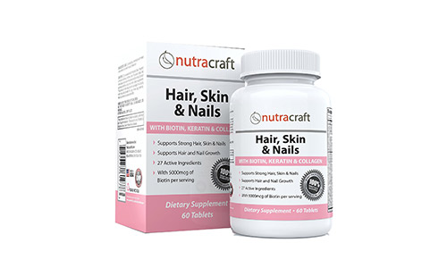 Nutracraft Hair Growth Supplement