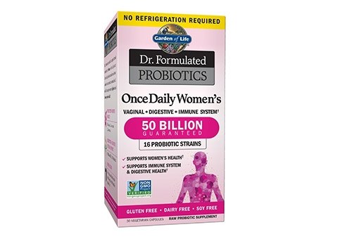 Garden of Life Dr. Formulated Once Daily Women's Probiotics