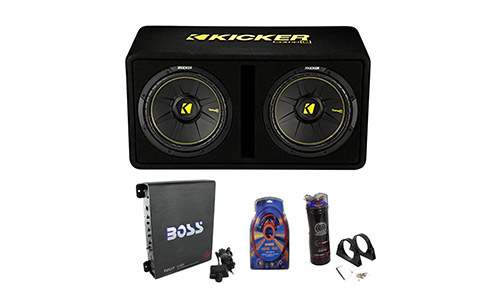 Kicker Car Subwoofers Kit