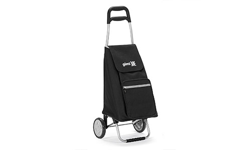 Red Co. Lightweight Foldable Shopping Trolley