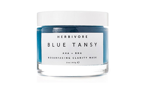 Herbivore Botanicals - Organic Blue Tansy AHA and BHA Clarity Mask, 2 ounce Jar