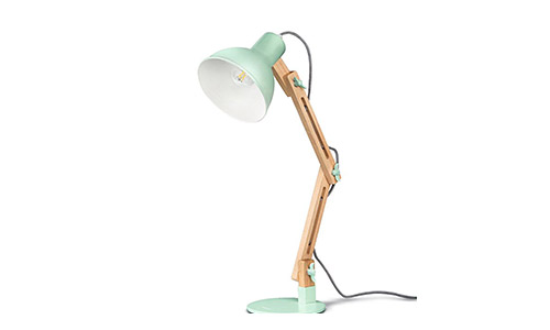 Tomons DL1001GR Swing Arm Desk Lamp