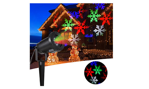 B-right Christmas Snowflake Projector