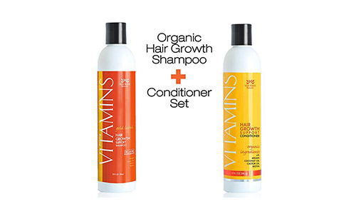 Nourish Beaute Hair Growth Shampoo and Conditioner