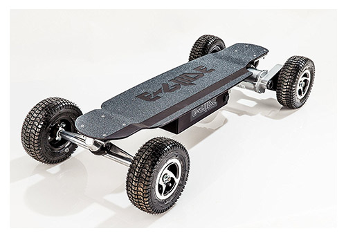 GT Powerboard - Black Anodized Aluminum Off-Road Electric Skateboard